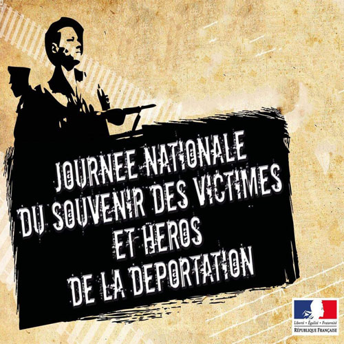 Journée nationale du souvenir des victimes et des héros de la déportation - 26 avril 2020