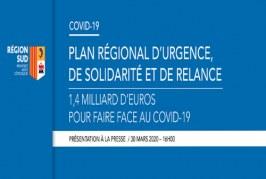 Présentation du plan d'urgence de solidarité et de relance.
