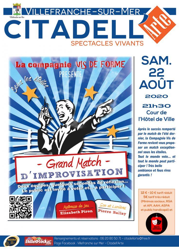 Citadell'Arte - Match d'Improvisation sous les étoiles