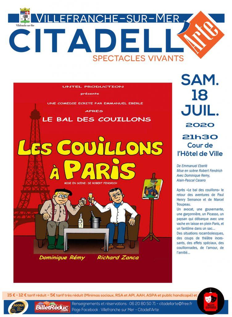 Citadell'arte - Les couillons à Paris