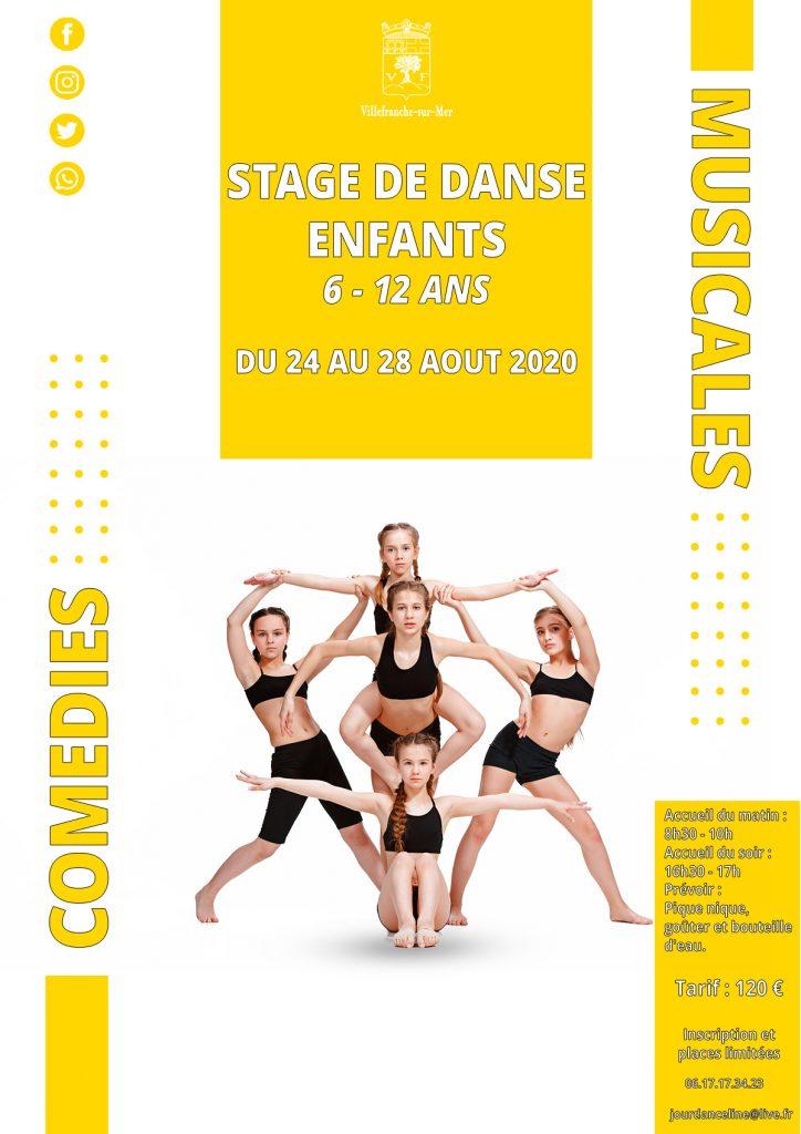 Stage de danse enfants - 6/12 ans