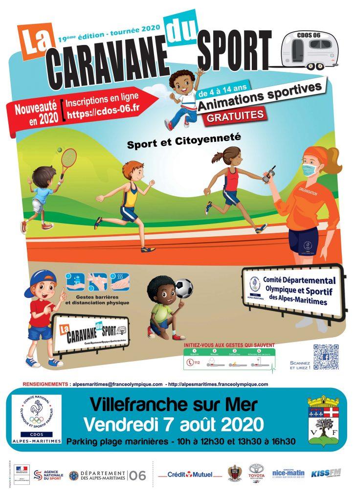 La 19ème édition - tournée 2020 de La Caravane du Sport