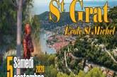 Fête de la St Grat le samedi 5 Septembre 2020