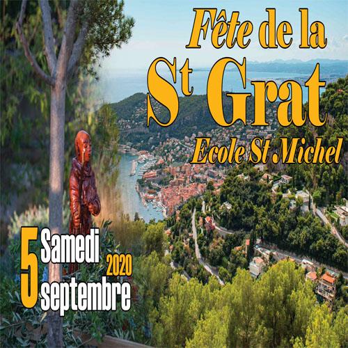 Annulation - Fête de la Saint Grat du Samedi 5 septembre 2020
