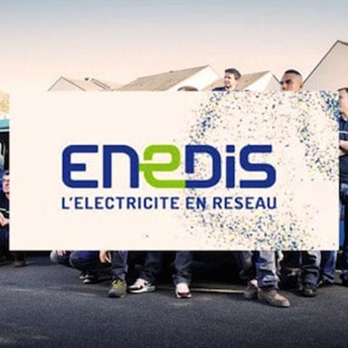 Intervention ENEDIS - Dans le cadre de l'amélioration de la distribution électrique