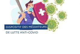 Les médiateurs de lutte anti-COVID interviennent à l'Octroi, tous les mercredis du 2 au 30 juin 2021 de 9h30 à 15h30